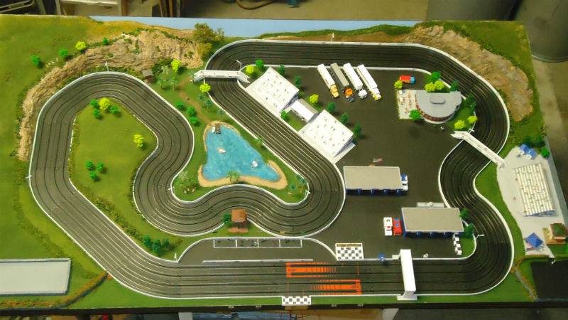 Slot Car Track Layout Lloyd S Layouts